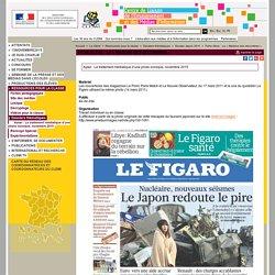 Fiche élève : La « Madone des décombres » - Dossier Japon 2011 - Dossiers thématiques - Ressources pour la classe