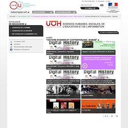 Histoire Moderne et Contemporaine : Monde
