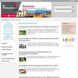 Tourisme - Marché du tourisme - Hôtellerie