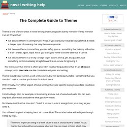 Theme: The Complete Guide
