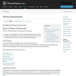 Theme Frameworks