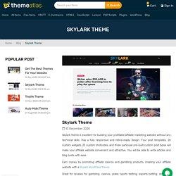 Themeatlas - Skylark Theme