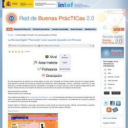 """La Revista Digital """"Themeefy"""" como soporte expositivo en Primaria"""
