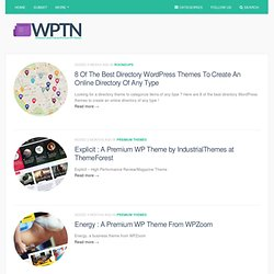WP Themes News | All the buzz about Free and Premium Wordpress Themes