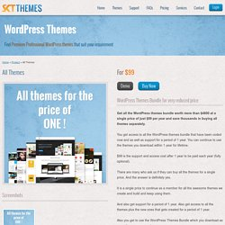 All Themes Access - WordPress Themes Bundle