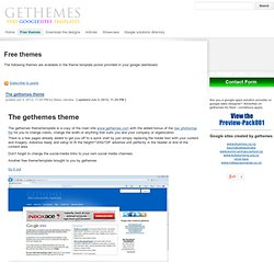 Free google sites background themes