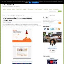 5 thèmes Coming Soon gratuits pour WordPress