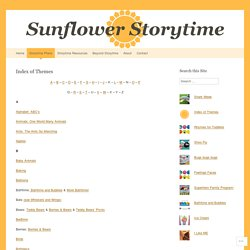 Sunflower Storytime