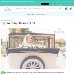 Top themes that you can go for if you are getting married in 2021