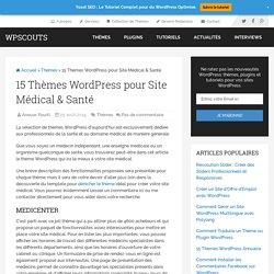 15 Thèmes WordPress pour Site Médical & Santé