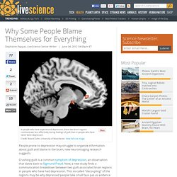 Why Some People Blame Themselves for Everything