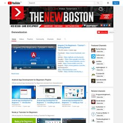 thenewboston's Channel
