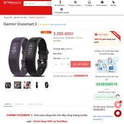 Đồng hồ theo dõi sức khỏe Garmin Vivosmart 3 chính hãng