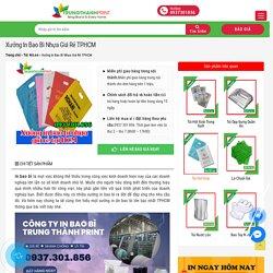 # Xưởng In Bao Bì Nhựa Giá Rẻ Số 1 tpHCM