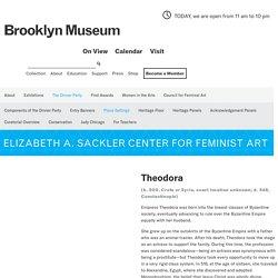 Theodora: Brooklyn Museum