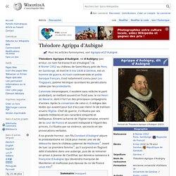 Théodore Agrippa d'Aubigné
