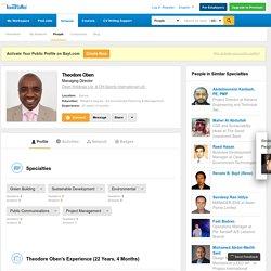 Theodore Oben - Managing Director at Oben Holdings Ltd. & OH-Sports International Ltd