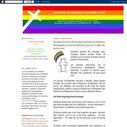 Parution du livret du Groupe protestant de réflexion théologique sur les bénédictions pour les couples de même sexe