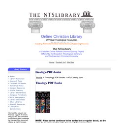 Theology PDF Books - NTSLibrary.com