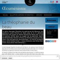 La théophanie du beau - Diocèse de Paris