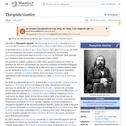 Théophile Gautier 1811-1872