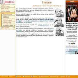 theatrons.com - Théorie et origines du théâtre