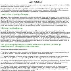 Théorie Acrogym