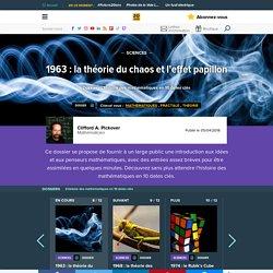 1963 : la théorie du chaos et l'effet papillon