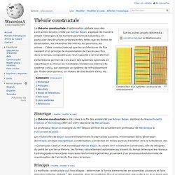 Théorie constructale