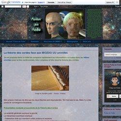 Futur en Folie: La théorie des cordes face aux IBOZOO UU ummites