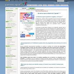 """Qu'est-ce que la théorie du """"gender""""? - Génétique - Catholique.org"""