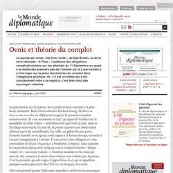 Ovnis et théorie du complot, par Pierre Lagrange