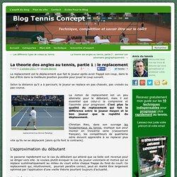 La théorie des angles au tennis, partie 1 : le replacement