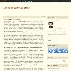 Les théories du chômage - Le blog de Rémy Guillemaud