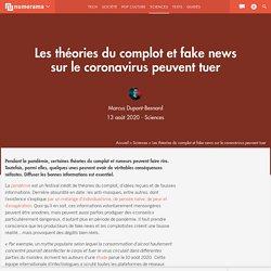 Les théories du complot et fake news sur le coronavirus peuvent tuer