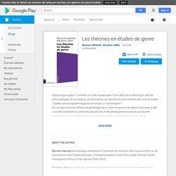 Les théories en études de genre by Éléonore LÉPINARD, Marylène LIEBER - Books on Google Play
