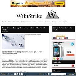 Les 10 théories du complot sur la santé qui se sont finalement vérifiés - Wikistrike