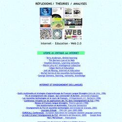 théories 1, réflexions, méthodes, FLE et Internet