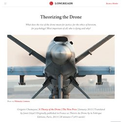 Theorizing the Drone