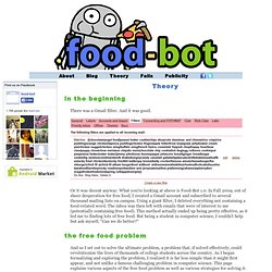 Theory | food-bot.com