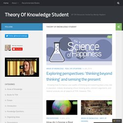 Theory Of Knowledge Student