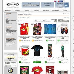 The Big Bang Theory Shop - Top Themen - - Serien Shop - günstig online kaufen Close Up GmbH