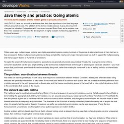 Java theory and practice: Going atomic