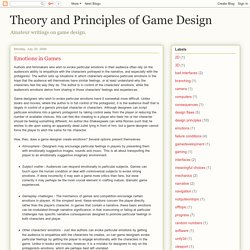 Game Design Theory Gameplay Experience Pearltrees - Game design theory
