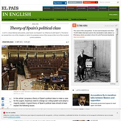 Theory of Spain's political class