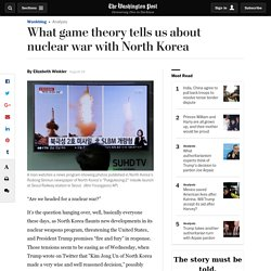 Are we heading for nuclear war? This is what game theory tells us