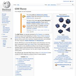 GNS Theory