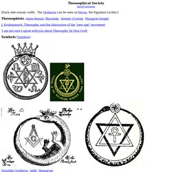 TS Conspiracy books - Hitler, a Theosophist devotee - Ruby (ISIS) ring