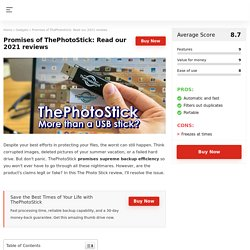 Find out if ThePhotoStick's Claims Legit or Fake?