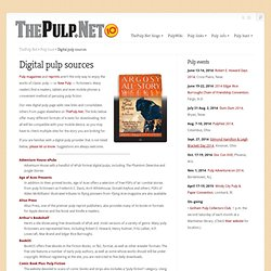 Digital pulp sources